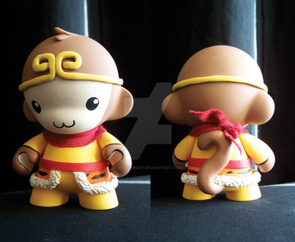 Munny - Monkey King by miss-shelby