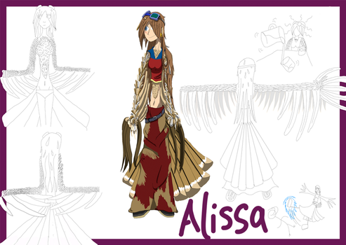 Character Profile: Alissa by FestiveDays