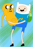 Finn and Jake Request by arctic-sunsett