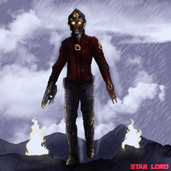 Star Lord by faraday1463