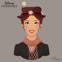 Mary Poppins by MarioOscarGabriele