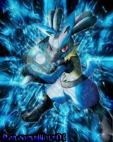 Lucario by Paradisewolf01