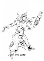 Arcee Prime Doodle by PiusInk