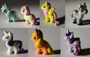 Miniature My Little Ponies! by Timatae