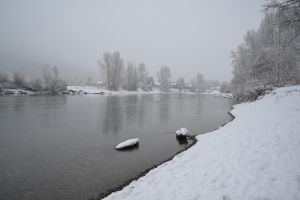 Waterfront Park in Leavenworth, WA in Winter 11 by Singing-Wolf-12