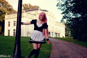 Moka Akashiya- Maid by JaMs-Yy