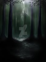 Forest - Speed Painting by Misted-Dream