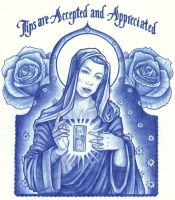 Mother Mary Full of Tips by thedanika