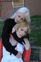 Claudia and Heather. by Seras-Loves-Master