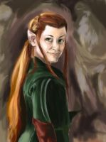 Tauriel by Luisabel123