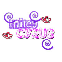PNG text Miley Cyrus by celi-cyrus