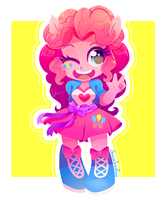 Mini Pinkie Pie by ChocoChaoFun