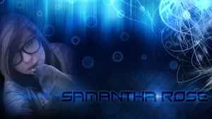 Samantha Rose Wallpaper by FroyoShark