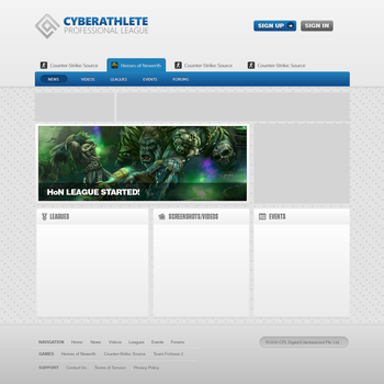 The CPL Site by mattdetails