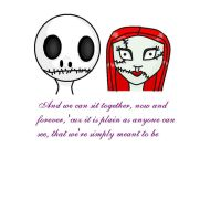 Jack And Sally by TheyCallMeDanger