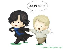 John Run!! by PityMau