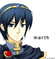 Marth for maniacsquirrel72 by feredir