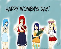 Happy Women's Day! by Orange-Asu