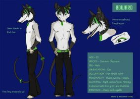 'Edward' Character Sheet by neon-possum