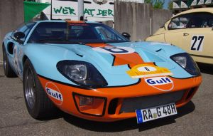 Ford GT40 by Pippa-pppx