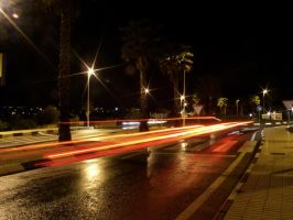 Night Time Traffic by ronankelly