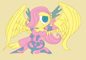 Sentinel Fluttershy by The1stMoyatia
