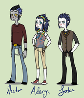 Kiddie's redesigns by MissThunderkin