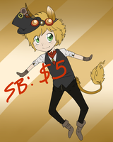 Steampunk Unicorn Gijinka: Adoptable AUCTION! by moothequackingcow