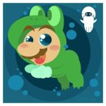 frog suit mario by Child-Of-Neglect