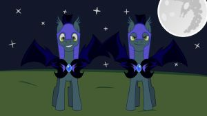 MLP FIM Princess Luna's Night Guards by ryolo132