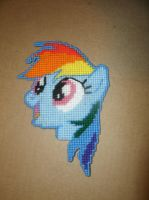 Rainbow Dash Craft by UWorlds