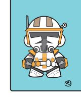 Commander Cody Munny Design by shamazindustries