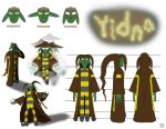 Reference Sheet (Yidna) by TheProphet191