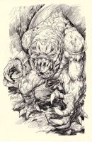 RANCOR monster by gammaknight
