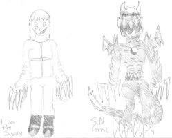 Wrath and SiN Forme by PsychoDemonFox