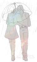 Rain by ASAMESHII