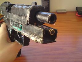 Homemade USP 45 pistol 3 by SomethingWild7
