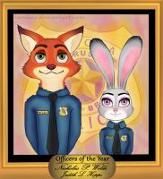 Officers of the Year by larnacy