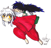 Inuyasha by Toramelle