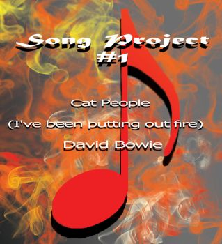 Song Project #1: Cat People- David Bowie by Mephonix