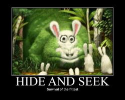 Poster - HIDE AND SEEK by E-n-S
