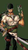 First-mate/ Swordsman by Donffy