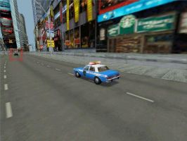 NYPD Dodge Diplomat in action by Rion-Fan