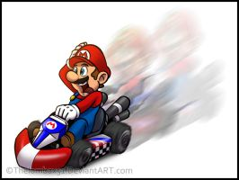 Mario Kart Wii by RatchetMario