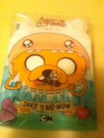 Adventure Time: Dvd package Jake vs Me-Mow by ThatNekohacker