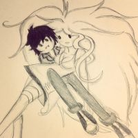 Marshall lee and fionna by pointy-bras-hurt