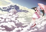 Above the clouds , under the sky by white-pepper9