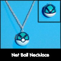 Net Ball Necklace Charm by YellerCrakka