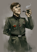 it's Hans Landa! by radioactivated