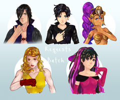 Requests Batch 1 by R-ShinyStars